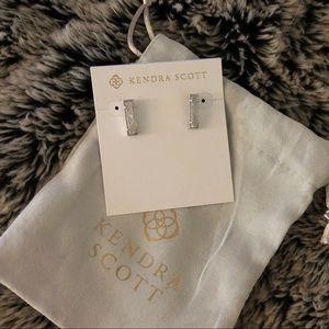 Kendra Scott Lady Silver Stud Earrings